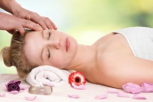 Massage Kopf Ruhe